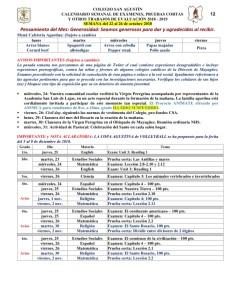 12 Calendarizacion de Evaluaciones y Trabajos 22 al 26 de octubre de 2018_001