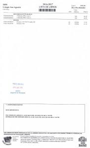 001 Pre Pre Kinder Lista Libros16-17