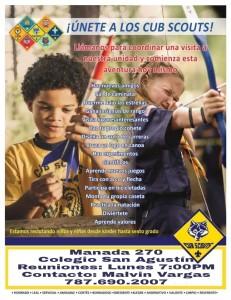Invitacion para la MANADA BSA