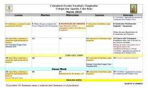 08 PADRES CSA Calendario marzo 2019