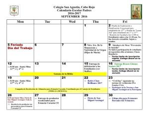 2 CSA Calendario SEPTIEMBRE 2016