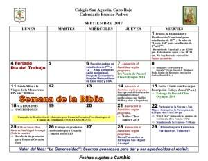 CSA Calendario PADRES 2017-2018 001 SEPTIEMBRE 2017