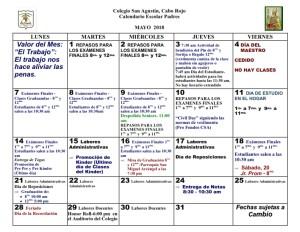 CSA Calendario PADRES 2017-2018 009 MAYO 2018